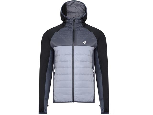 Dare 2b Coordinate Giacca ibrida in lana Uomo, aluminium grey/black/ebony grey